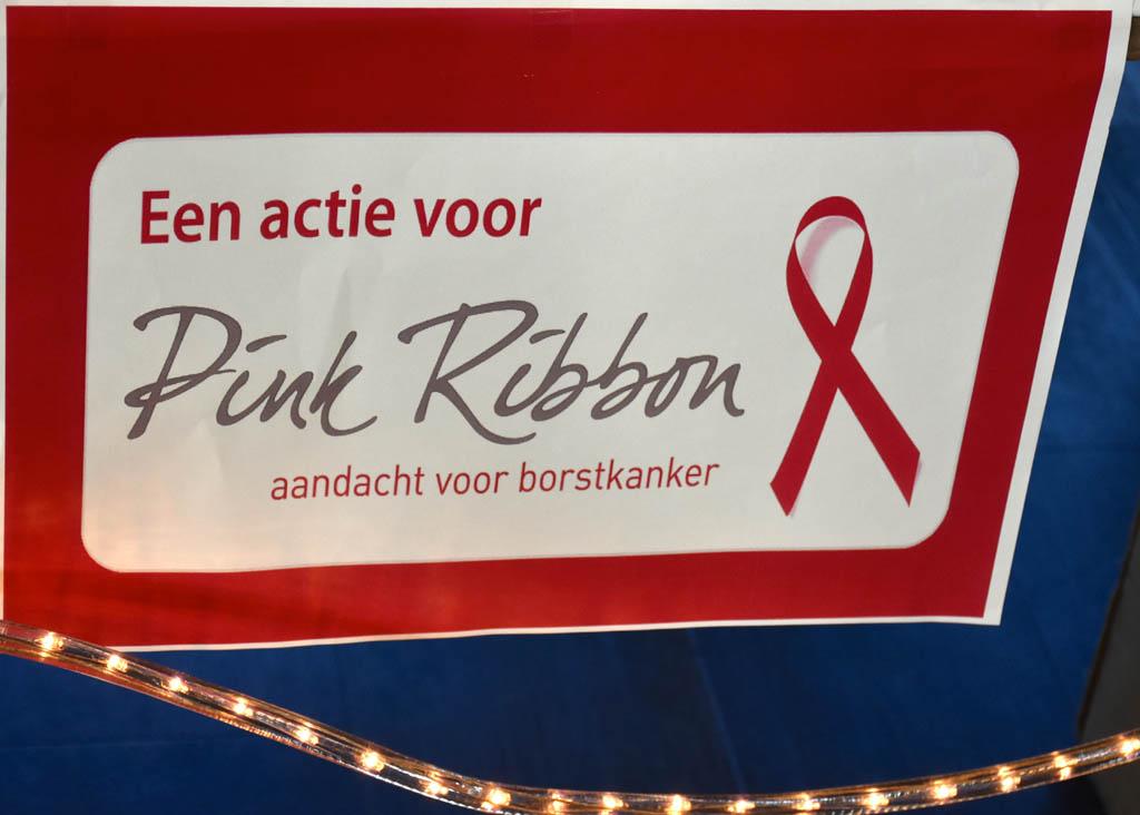Pink Ribbon actie.