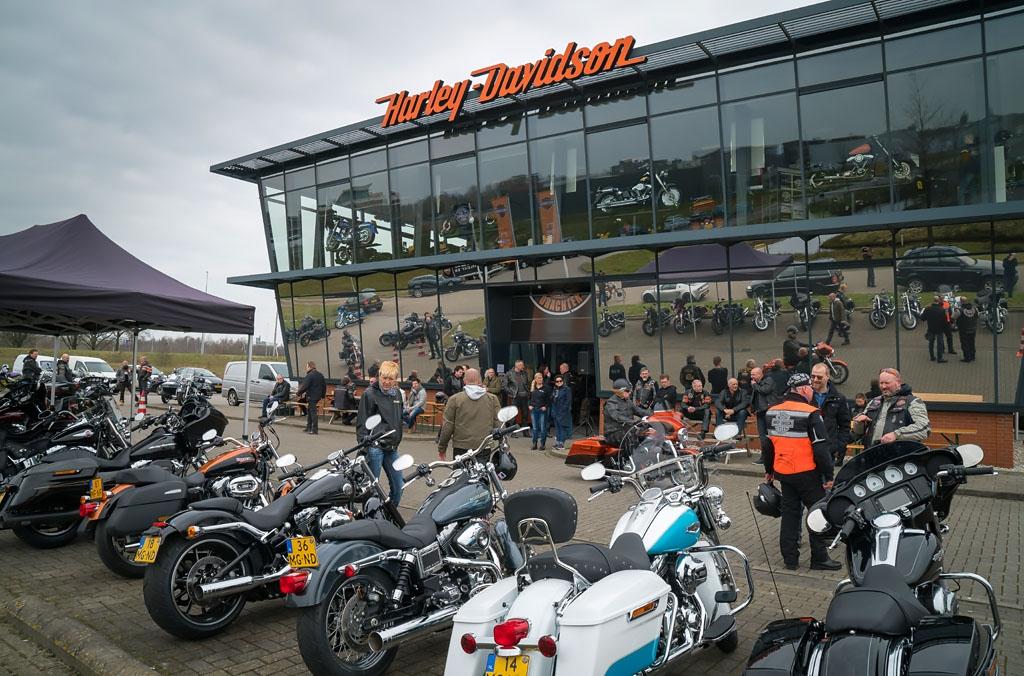 Harley-Davidson Point Drachten Open House 2 april 2016